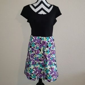 Floral party dress by Maurices